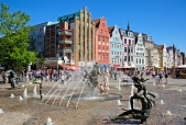 ROSTOCK-Fountain-Square