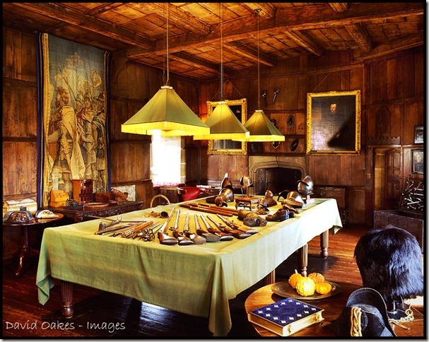 Rilpey Castle Tower room