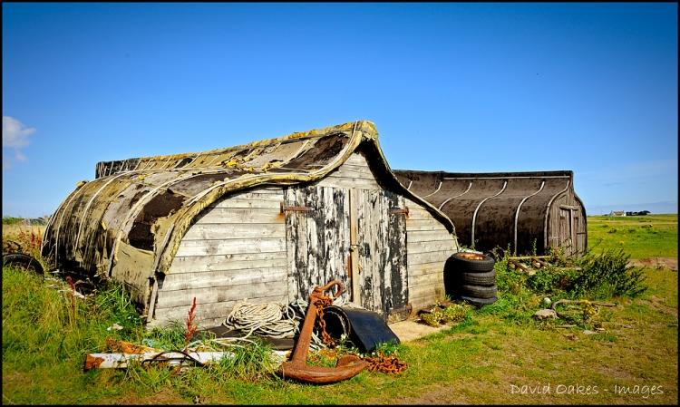Fishermens Huts, Lindisfarne