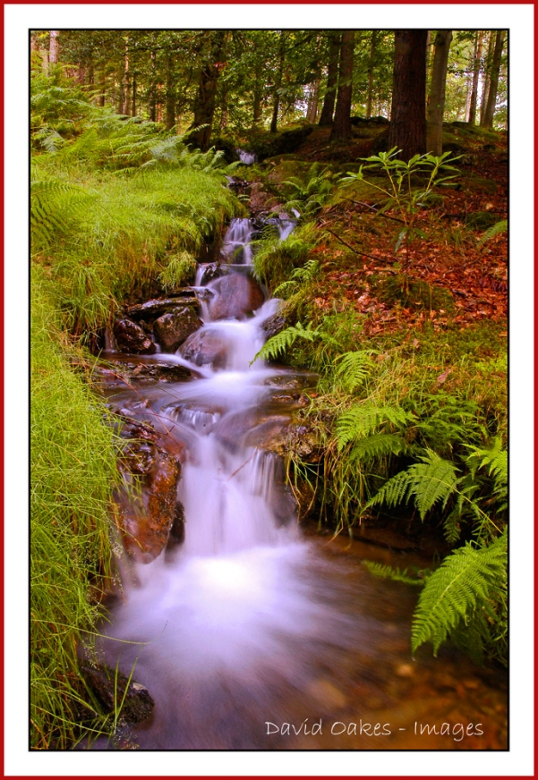 Tumberling Water