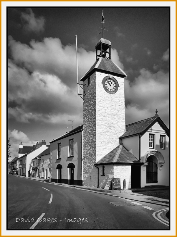 Laugharne,--The-Town-Hall,-Market-Street-038 (2)BW