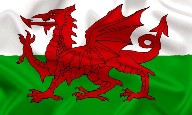 Wales. Flag
