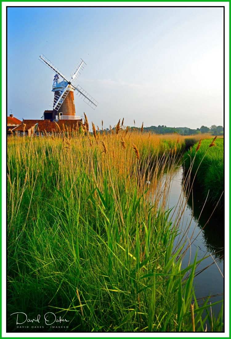 Cley Windmill and Marsh