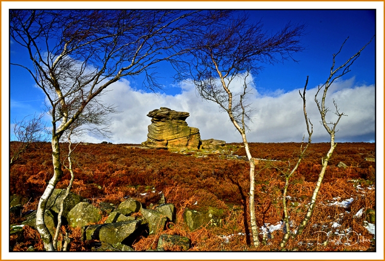 Mother Cap Tor on Hathersage Moor 1