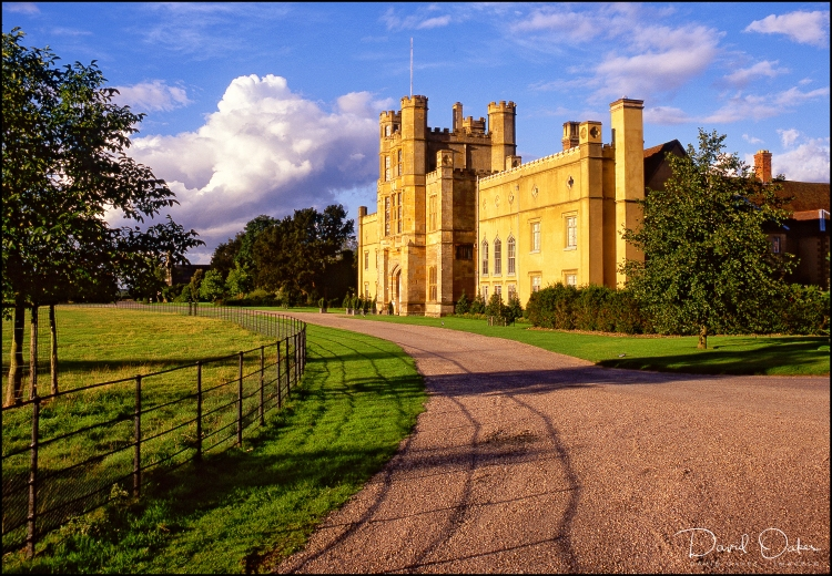 WEST FRONT of COUGHTON COURT, ALCESTER, WARWICKSHIRE