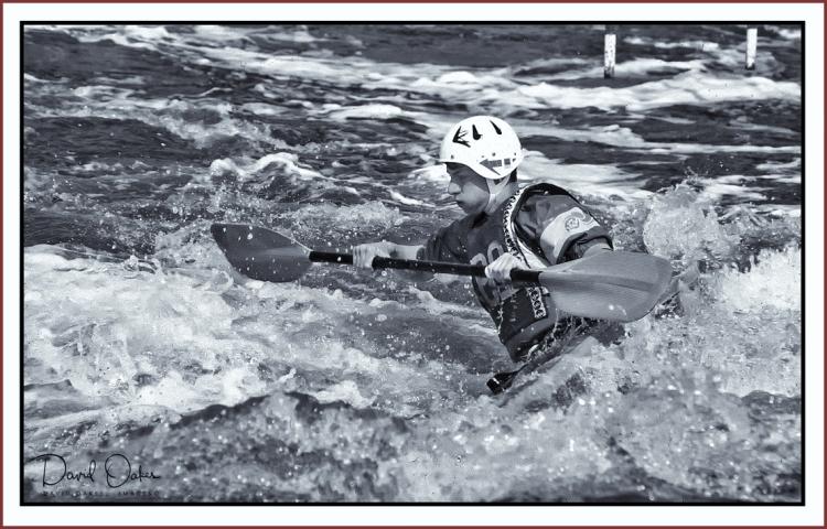 Canoe-Slalom bw