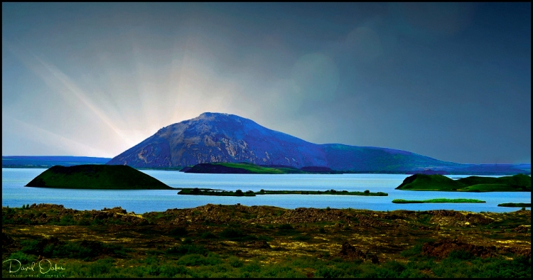 Dawn Lake of the Midges, Iceland
