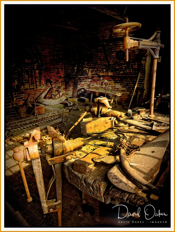Blacksmiths-workbench