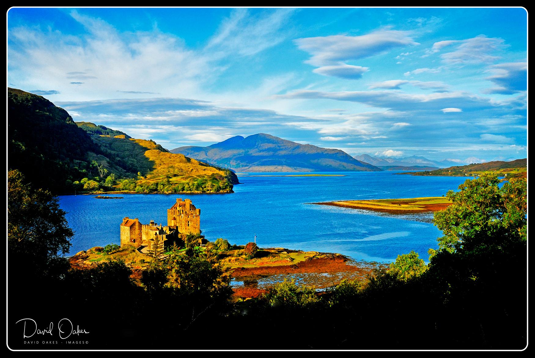 Eilean Donan Castle on Loch Duich, Morvich, Scotland