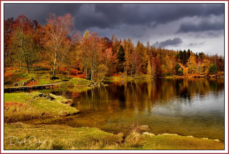 Tarn-Hows-Autumn-storm