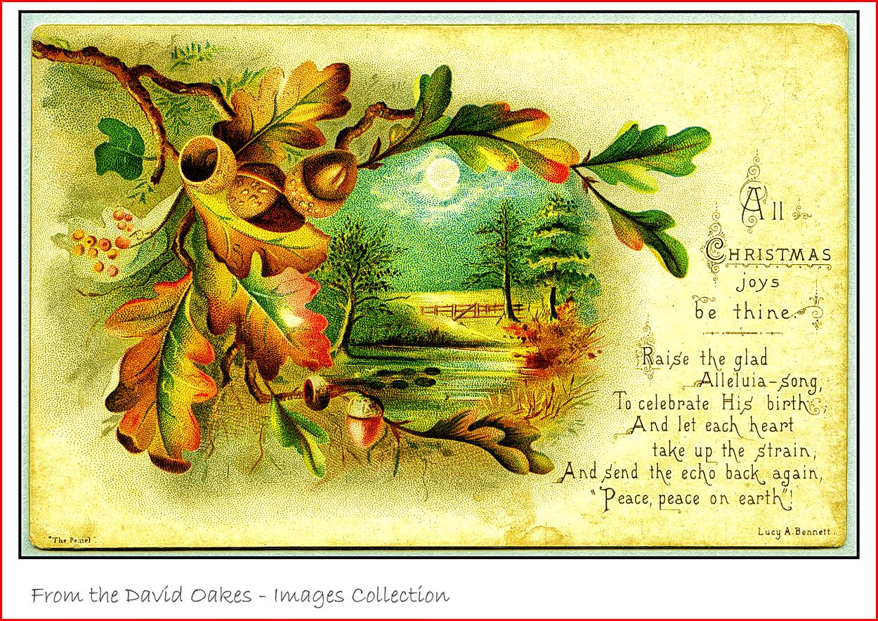 Oak-leaf-Christmas-card-Victorian