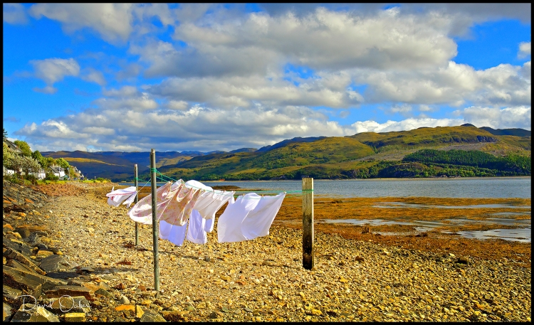 Wash-Day,-Loch-Carron
