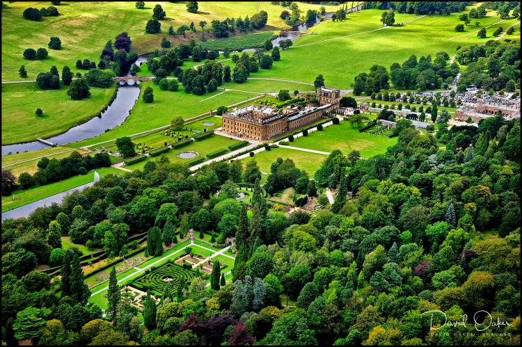 Chatsworth From the Air